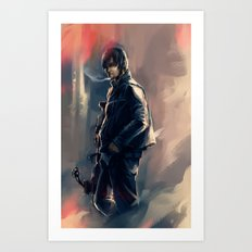 DARYL DIXON - THE WALKING DEAD Art Print