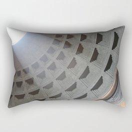 the pantheon dome Rectangular Pillow