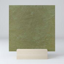 Italian Style Tuscan Olive Green Stucco - Luxury - Neutral Colors - Home Decor - Corbin Henry Mini Art Print