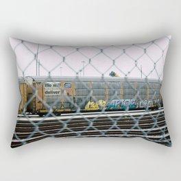 Chain Linked Rectangular Pillow