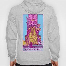 Queen Of Wands - A Femme Tarot Print Hoody