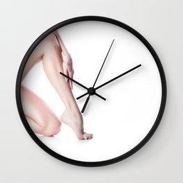 Girl beautifl legs Wall Clock