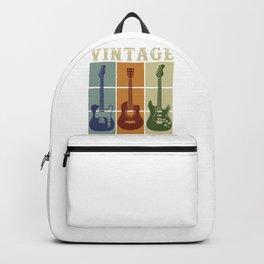 Guitars Vintage Backpack