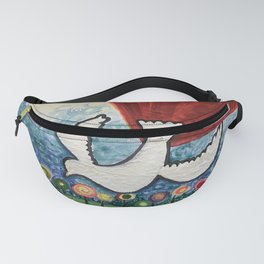 Whimsical Spirit Dove Fanny Pack