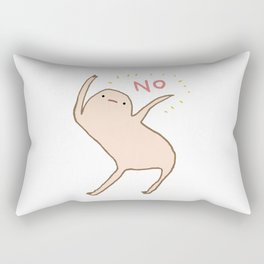 Honest Blob Says No Rectangular Pillow