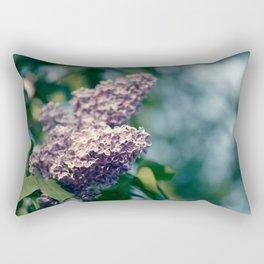 Syringa vulgaris lilac Rectangular Pillow