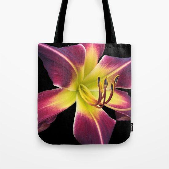 Purple Lily Tote Bag