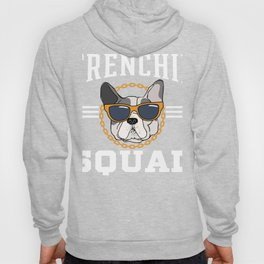 Love My Frenchie   French Bull dog Lovers Gift design Hoody