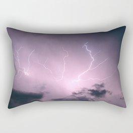 Lightning Cloud Rectangular Pillow