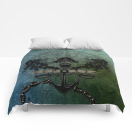 Pirate design, a pirate's life for me Comforters