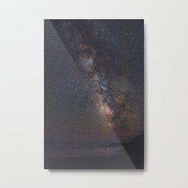 Acadia National Park milky way Metal Print