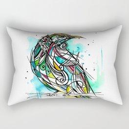 Turquoise Tui Rectangular Pillow