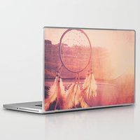 dream catcher Laptop & iPad Skins featuring Dream Catcher by Whitney Retter