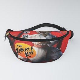 Karate Kat - Master Meowgi (80s Movie Cat Parody) Fanny Pack