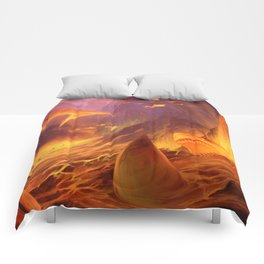 The Great White Lava Bed Comforters