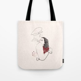 NEVER APART Tote Bag