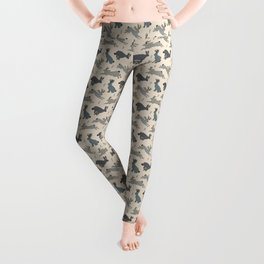 Jackalope Snow Parade Leggings