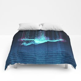 Virtual Reality Diver Comforters