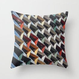 Melbourne - Architectural geometry 2 Throw Pillow
