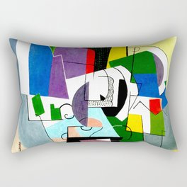 Composition by Georges Valmier - Vintage Painting Rectangular Pillow