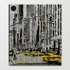 somewhere in New York City...... Canvas Print