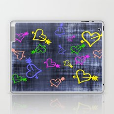 Hearts with Arrows Laptop & iPad Skin