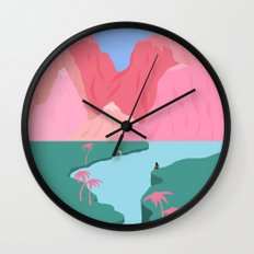 Girls' Oasis Wall Clock