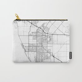 Minimal City Maps - Map Of Oxnard, California, United States Carry-All Pouch