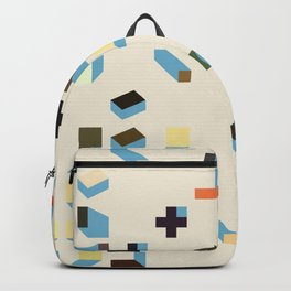 Abstract Geometric Artwork 75 Backpack