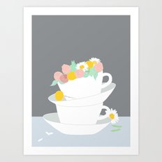 Summer bloom Art Print