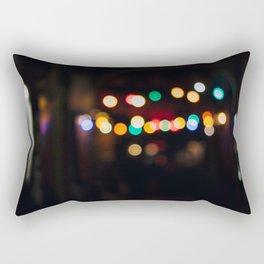 Berlin Bokeh Rectangular Pillow