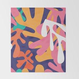 Matisse Pattern 010 Throw Blanket