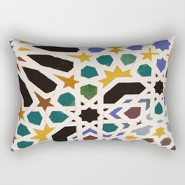 Escher Inspiration Rectangular Pillow