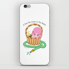 It puts the lotion in the basket. // Silence of the Lambs iPhone Skin