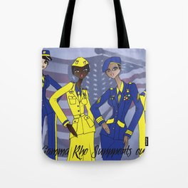Sigma Supports the Troops Tote Bag