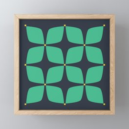 Jasmine Blue Framed Mini Art Print