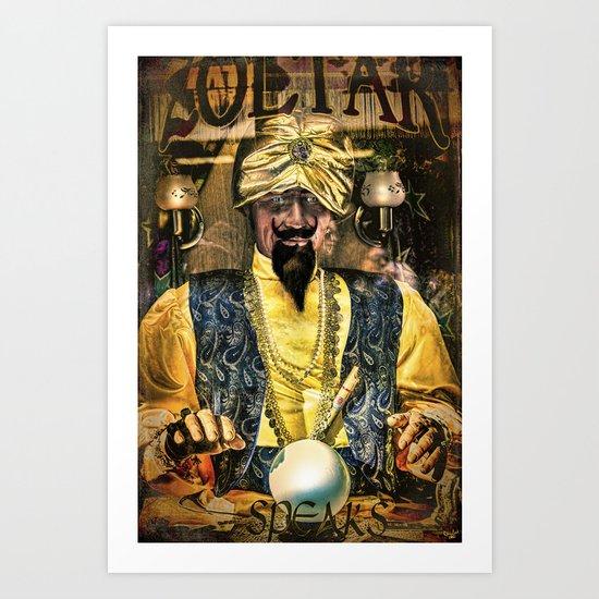 Zoltar Speaks Art Print