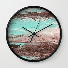 Tidal Shifts of Dawn and Dusk Wall Clock