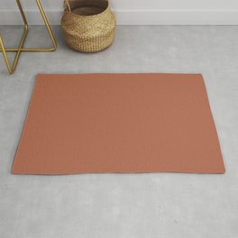 Behr Rusty Gate (Dark Brownish Red) M200-7 Solid Color Rug