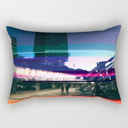 Project L0̷SS   Nathan Phillips Square, Toronto Rectangular Pillow