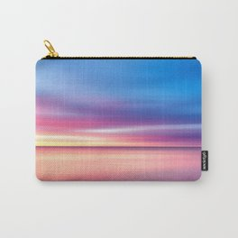 Abstract Sunset V Carry-All Pouch
