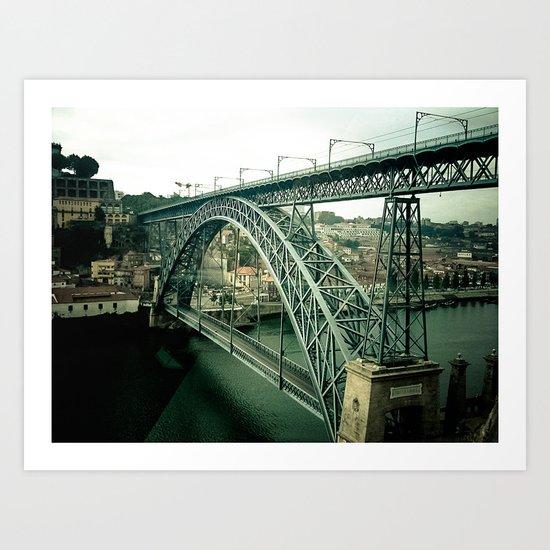 Structure Bridge III Art Print