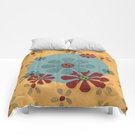 Country Flowers Comforters