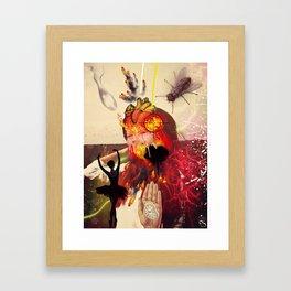 60 Framed Art Print