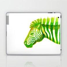 Zebra Watercolor Print Laptop & iPad Skin