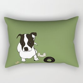 It's A Wynderful Dog Life Rectangular Pillow