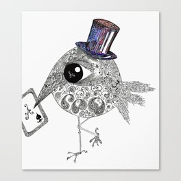 Ace Bird Canvas Print