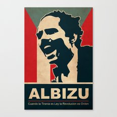 Albizu - Vintage Canvas Print