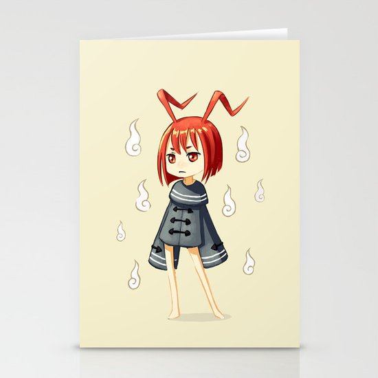 Magician 3 Stationery Cards