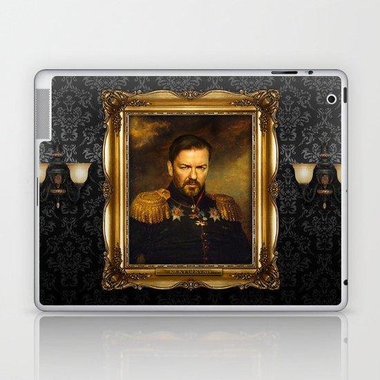 Ricky Gervais - replaceface Laptop & iPad Skin